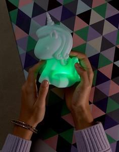 Меняющий цвета светильник в форме единорога Fizz - Мульти