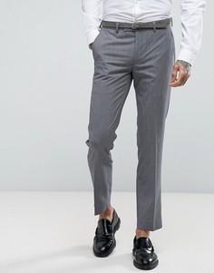 Серые облегающие брюки Harry Brown - Серый