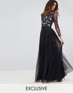 Платье из тюля Needle & Thread - Темно-синий