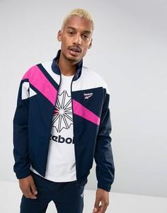 Темно-синяя спортивная куртка Reebok Vector BR0104 - Темно-синий