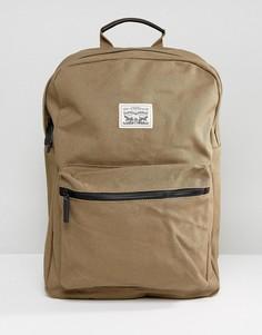 Парусиновый рюкзак цвета хаки Levis - Светло-серый Levis®