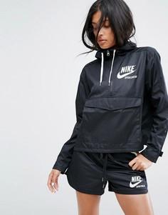 Черная тканая куртка Nike Archive Pro - Черный