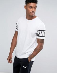 Белая футболка Puma Rebel 59245302 - Белый