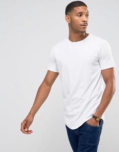 Удлиненная футболка с рукавами реглан Jack & Jones Core - Белый