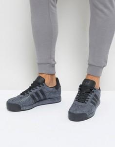Черные кроссовки adidas Originals Samoa OG - Черный