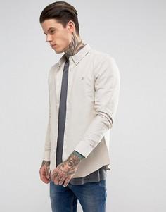 Зауженная рубашка с длинными рукавами Farah - Белый