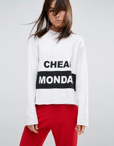 Свитшот Cheap Monday - Белый