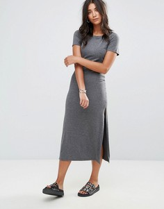 Платье-футболка Glamorous - Серый