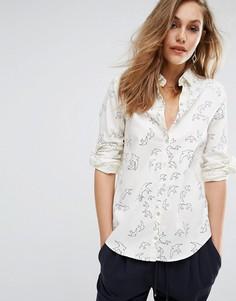 Рубашка с принтом Boss Orange By Hugo Boss Cimily - Белый