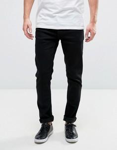 Черные узкие джинсы Solid - Черный