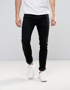 Черные выбеленные джинсы скинни Levis 501 - Черный Levis®