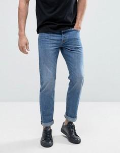 Выбеленные джинсы классического кроя Jack & Jones Intelligence - Синий
