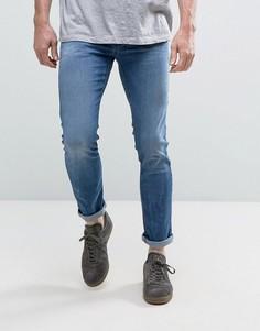 Супероблегающие джинсы Sisley - Синий