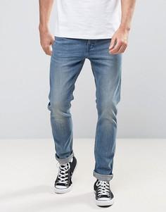 Узкие синие джинсы Levis Line 8 - Синий