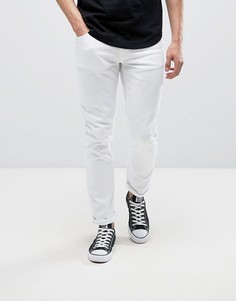 Белые джинсы Nudie Jeans Co Lean Dean - Белый