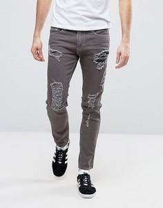 c3ccf2f5388 Купить мужские скинни джинсы с заплатками в интернет-магазине ...