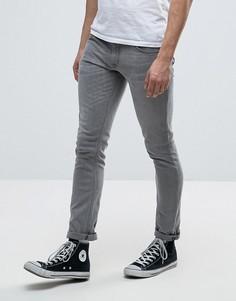 Серые выбеленные джинсы Nudie Jeans Co - Серый
