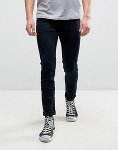 Супероблегающие джинсы Rollas Stinger - Темно-синий Rollas