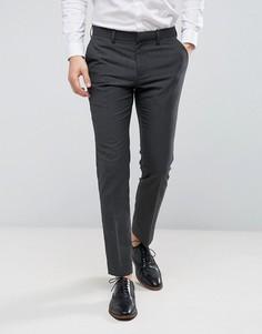 Зауженные брюки в строгом стиле Burton Menswear - Серый