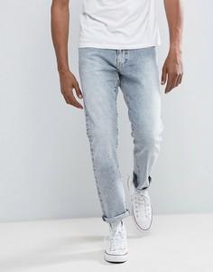 Светлые джинсы слим Tommy Hilfiger Denim - Синий