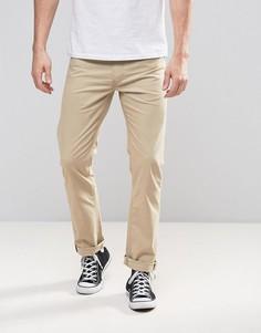 Прямые классические джинсы песочного цвета Lee Daren - Бежевый