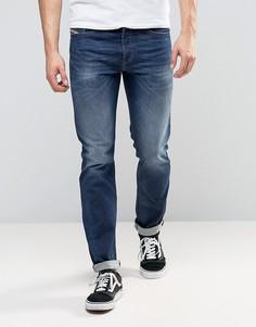 Узкие эластичные джинсы Diesel Buster 853R - Синий