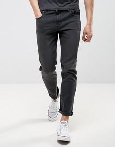 Черные выбеленные джинсы слим LDN DNM - Черный