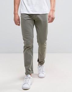 Зеленые зауженные джинсы Weekday Friday - Зеленый