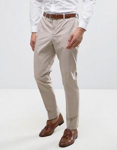 Узкие премиум-брюки Jack & Jones - Светло-серый