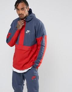 Синяя куртка Nike Air 861634-471 - Синий
