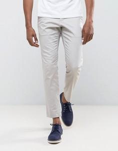 Облегающие брюки с 5 карманами Burton Menswear - Светло-серый