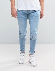 Супероблегающие джинсы Blend Lunar - Синий