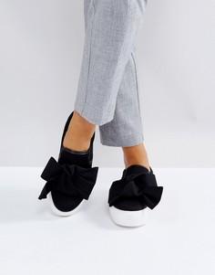 Кроссовки с бантами Park Lane - Черный