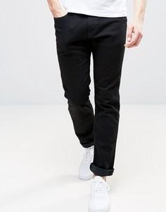 Черные эластичные джинсы скинни Abercrombie & Fitch - Синий