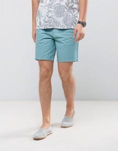 Строгие узкие шорты чиносы Burton Menswear - Синий