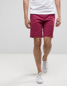 Шорты чиносы слим Burton Menswear - Розовый