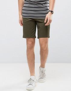 Шорты чиносы слим Burton Menswear - Зеленый