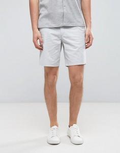 Строгие узкие шорты чиносы Burton Menswear - Серый