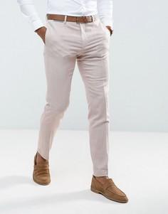 Розовые брюки скинни ASOS WEDDING - Розовый
