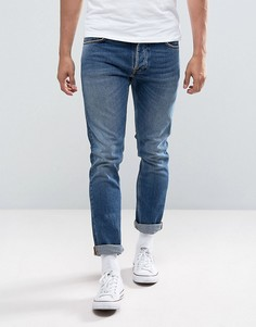 Джинсы скинни Nudie Jeans Co Tilted Tor Jean Shackled and Blue - Синий