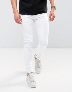 Белые супероблегающие джинсы ASOS - Белый