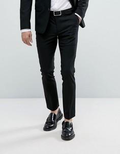 Черные брюки скинни New Look - Черный