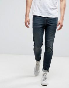 Зауженные джинсы длиной до щиколотки ASOS - Синий