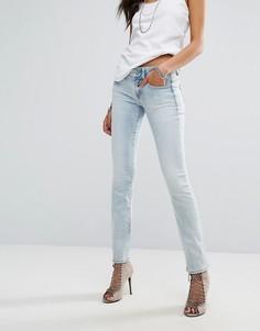Прямые джинсы с классической талией G-star - Синий