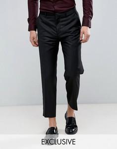 Укороченные брюки прямого кроя Heart & Dagger - Черный