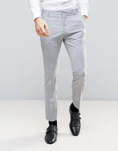 Узкие брюки Selected Homme - Серый
