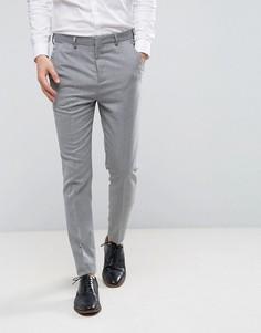 Суженные книзу брюки в строгом стиле Burton Menswear - Серый