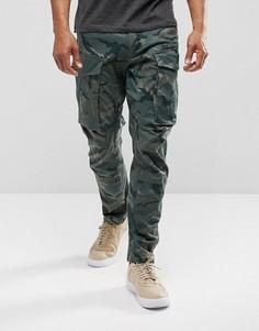 Суженные брюки G-Star Rovic Qane 3D - Зеленый