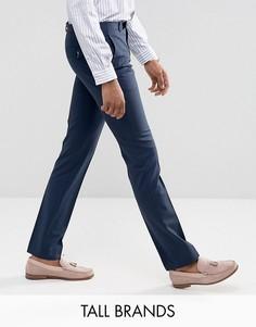 Суперузкие брюки Noose & Monkey TALL - Темно-синий