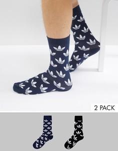 Черные носки adidas Originals - Черный
